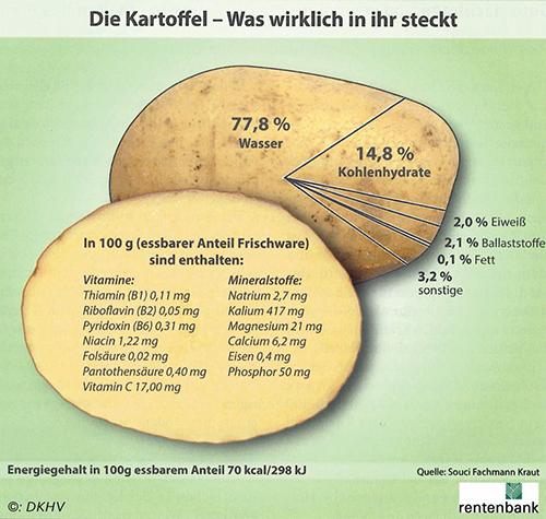 Wissenswertes über die Kartoffel