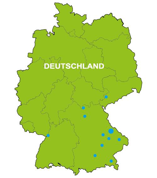Bild der Kartoffelkarte Deutschland