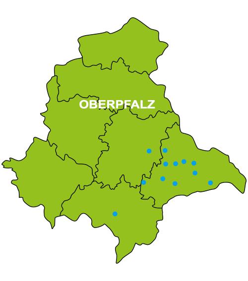 Bild der Kartoffelkarte Oberpfalz